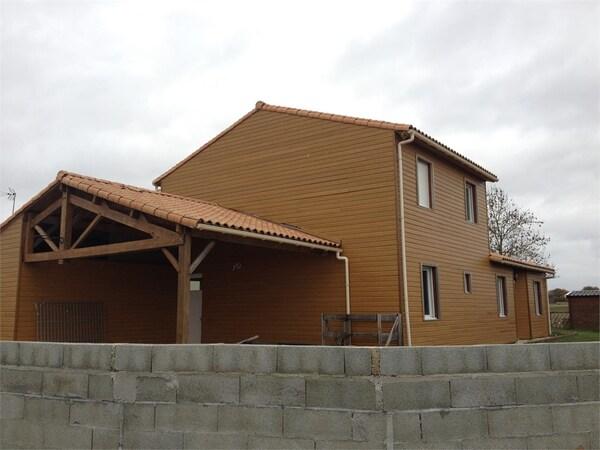 Maison en bois LUCON