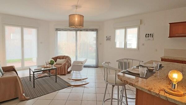 Appartement en rez-de-jardin VALLEIRY
