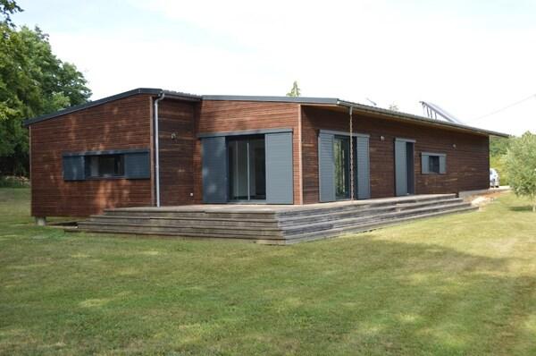 Maison à ossature bois CAUNAY