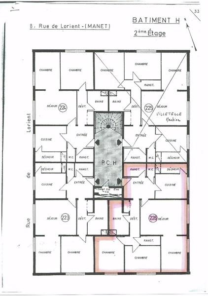 Appartement 1960 HEILLECOURT
