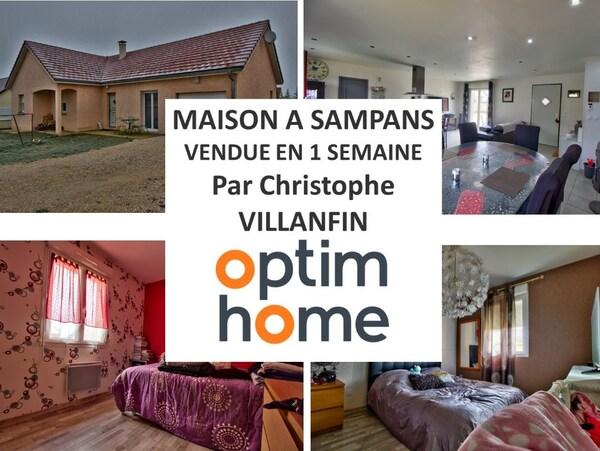 Maison plain-pied SAMPANS