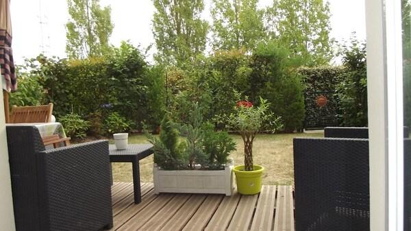 Appartement en rez-de-jardin CABOURG