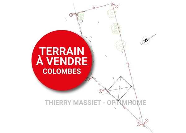 Terrain constructible COLOMBES