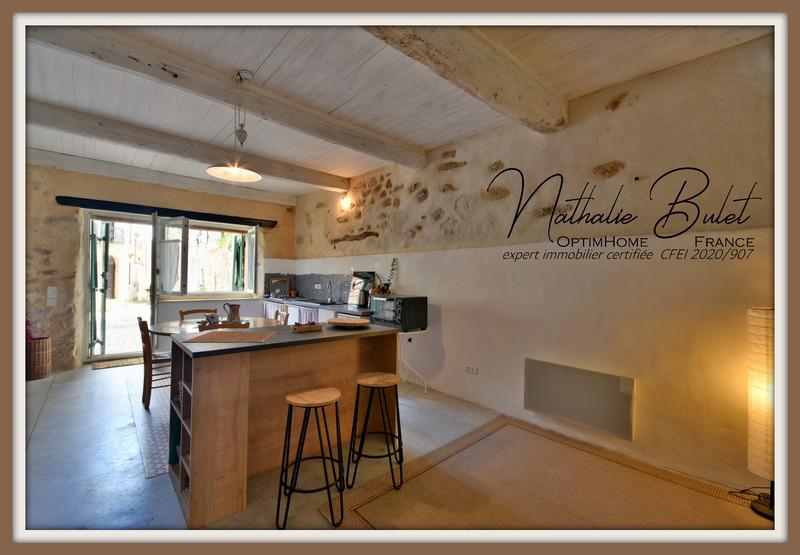 Maison en pierre de 126  m2 - Assignan (34360)