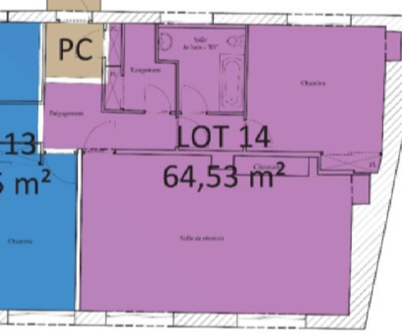 Appartement à rénover de 65  m2 - Limoges (87000)