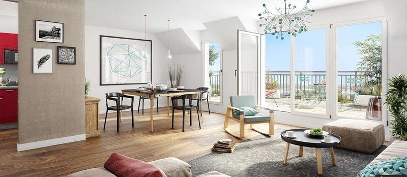 Appartement de 83  m2 - Sainte-Foy-lès-Lyon (69110)