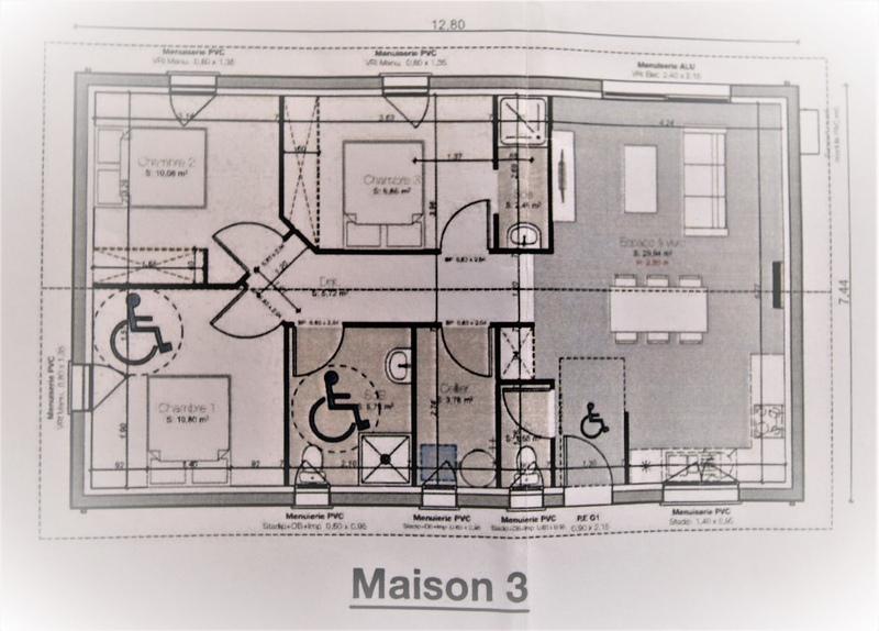 Maison individuelle de 90  m2 - Gujan-Mestras (33470)