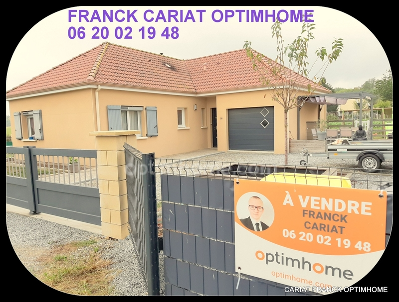 Maison plain-pied de 80  m2 - Saint-Maurice-la-Souterraine (23300)