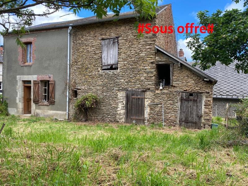 Maison de village de 53  m2 - Colondannes (23800)