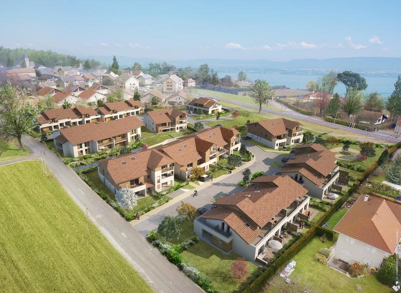 Appartement en frais réduits de 110  m2 - Excenevex (74140)
