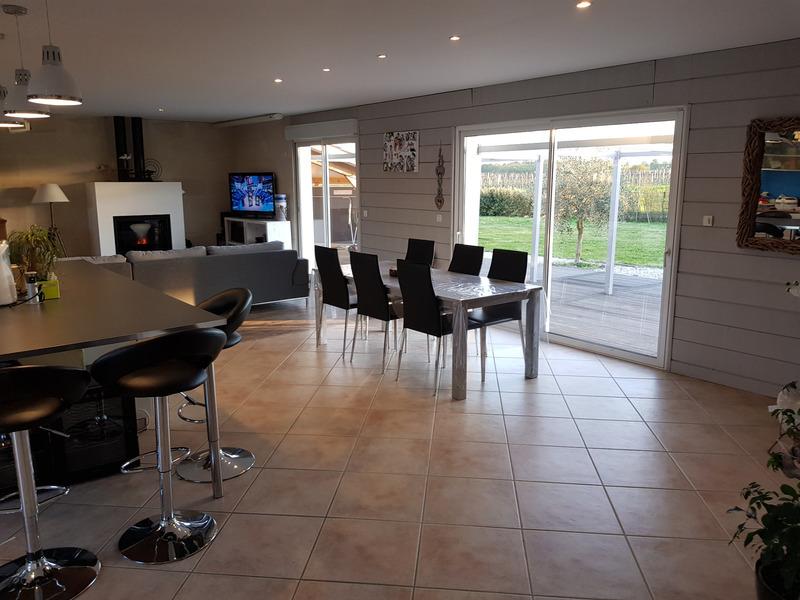Maison contemporaine de 133  m2 - Libourne (33500)