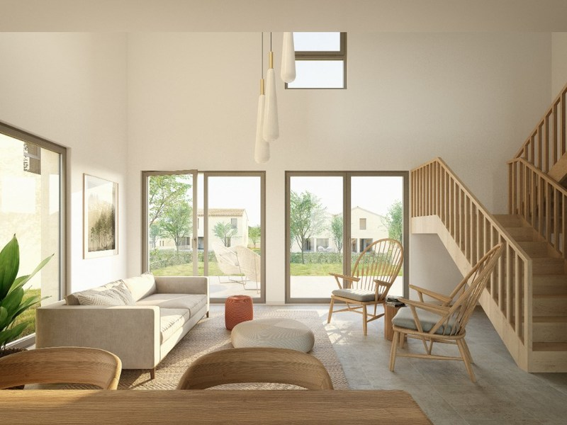 Maison contemporaine de 113  m2 - Quinsac (33360)