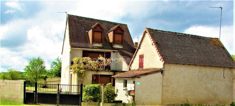 Maison de 107  m2 - Pleumartin (86450)