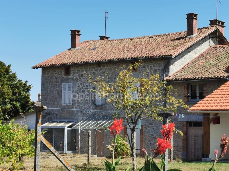 Maison de village de 152  m2 - Cieux (87520)