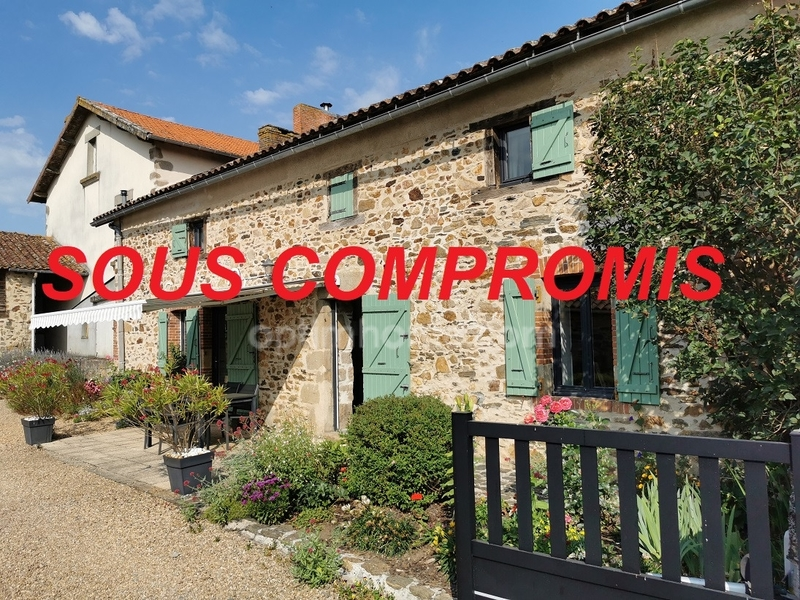 Maison en pierre de 124  m2 - Saint-Junien (87200)