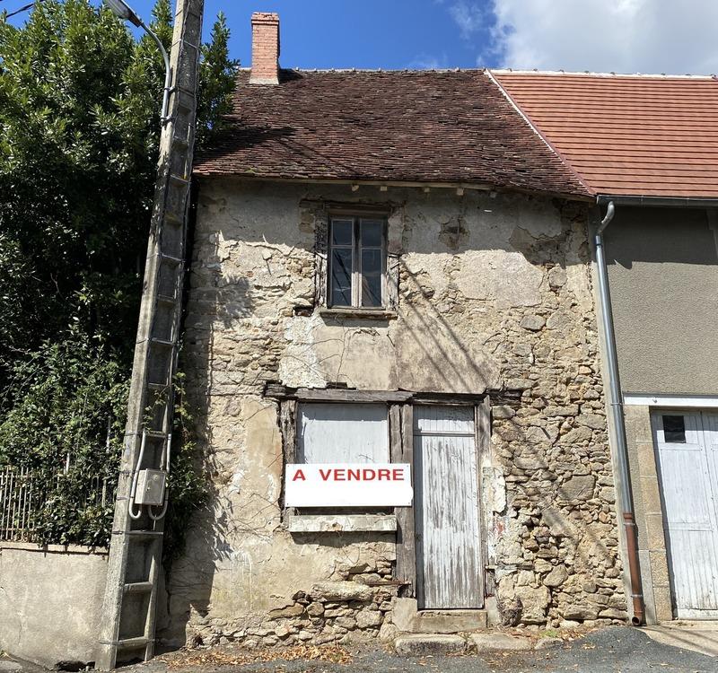Maison de ville de 56  m2 - Dun-le-Palestel (23800)