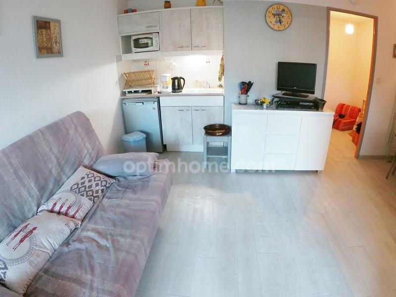 Appartement en rez-de-jardin de 28  m2 - La Croix-Valmer (83420)