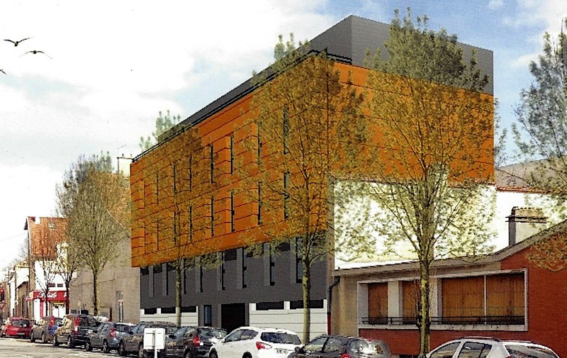 Appartement en frais réduits de 80  m2 - Reims (51100)