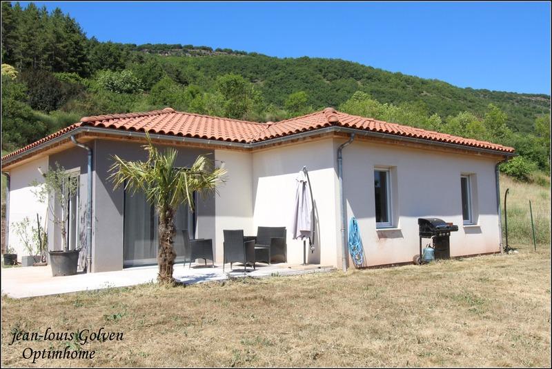 Maison à ossature bois de 92  m2 - Saint-Affrique (12400)