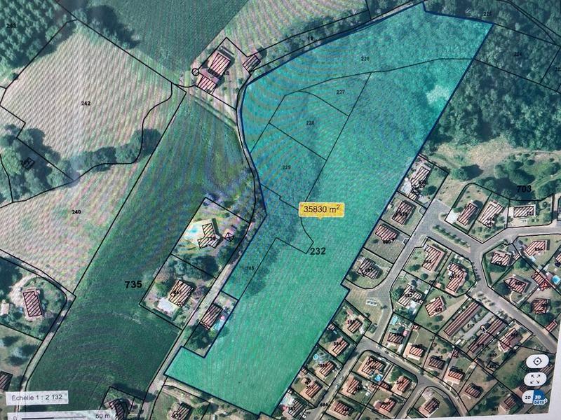 Terrain constructible de   m2 - Tartas (40400)