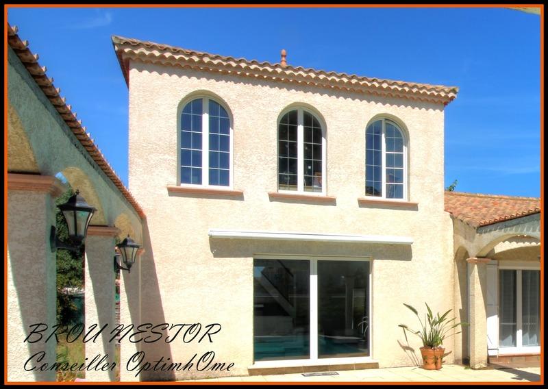 Maison contemporaine de 160  m2 - Marseillan (34340)