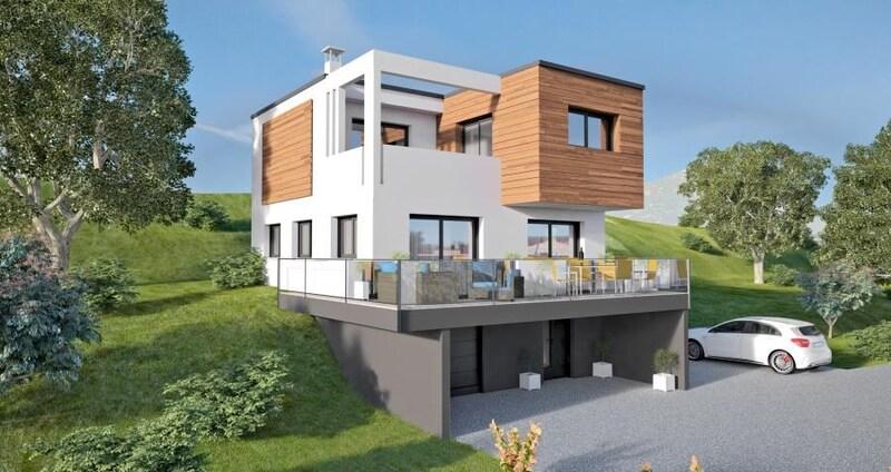 Maison contemporaine de 133  m2 - Tresserve (73100)