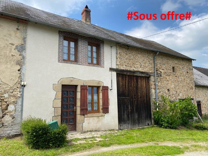 Maison de village de 77  m2 - Bussière-Dunoise (23320)