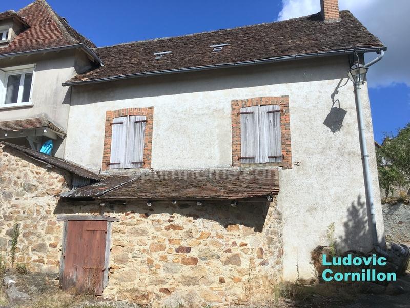 Maison à rénover de 68  m2 - Château-Chervix (87380)