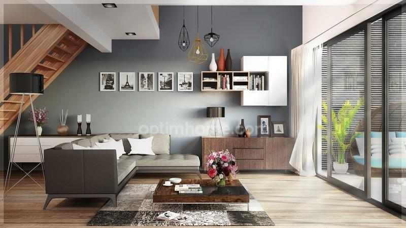 Maison en frais réduits de 101  m2 - Saint-Priest (69800)