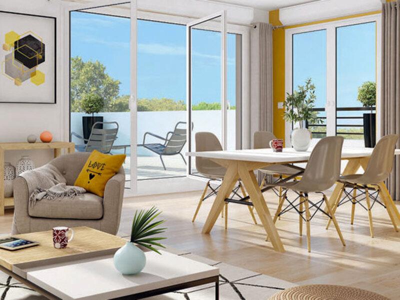 Appartement de 60  m2 - Laxou (54520)