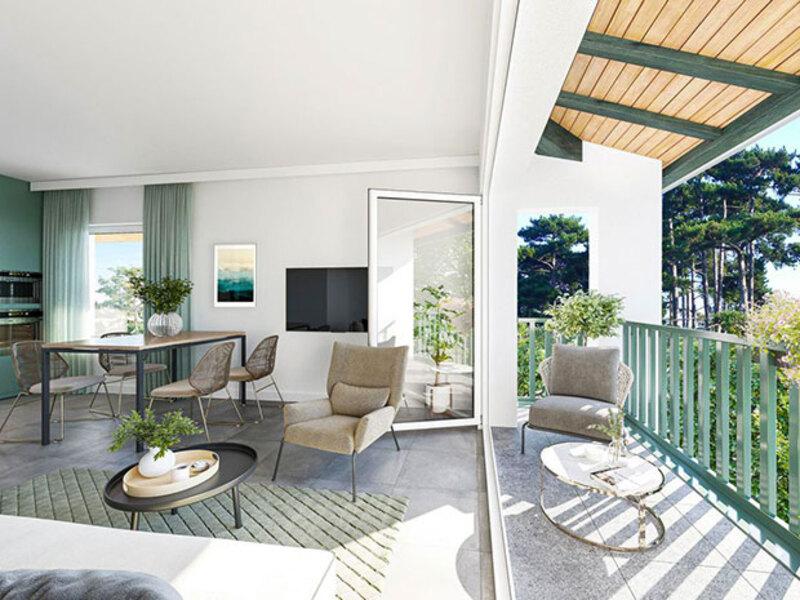 Appartement de 63  m2 - Sanguinet (40460)