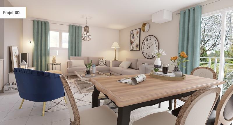 Maison de 115  m2 - Marennes (69970)