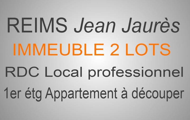 Immeuble de   m2 - Reims (51100)