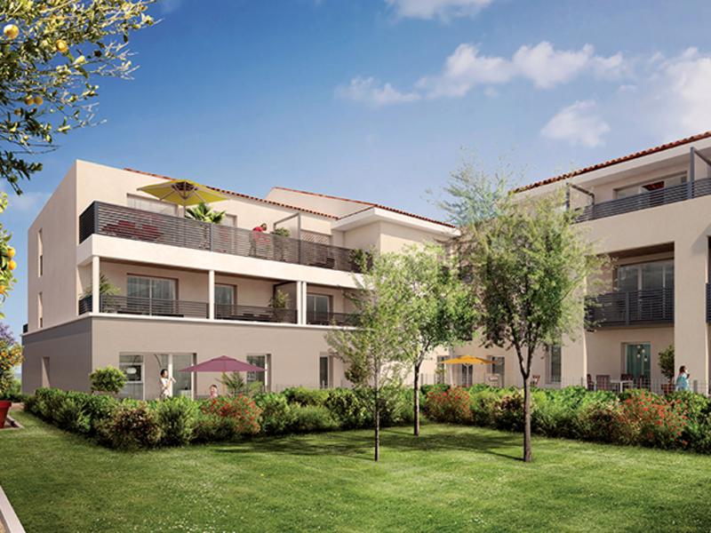 Appartement de 39  m2 - Cuers (83390)