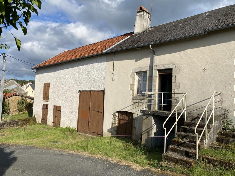 Maison de village de 35  m2 - Dun-le-Palestel (23800)