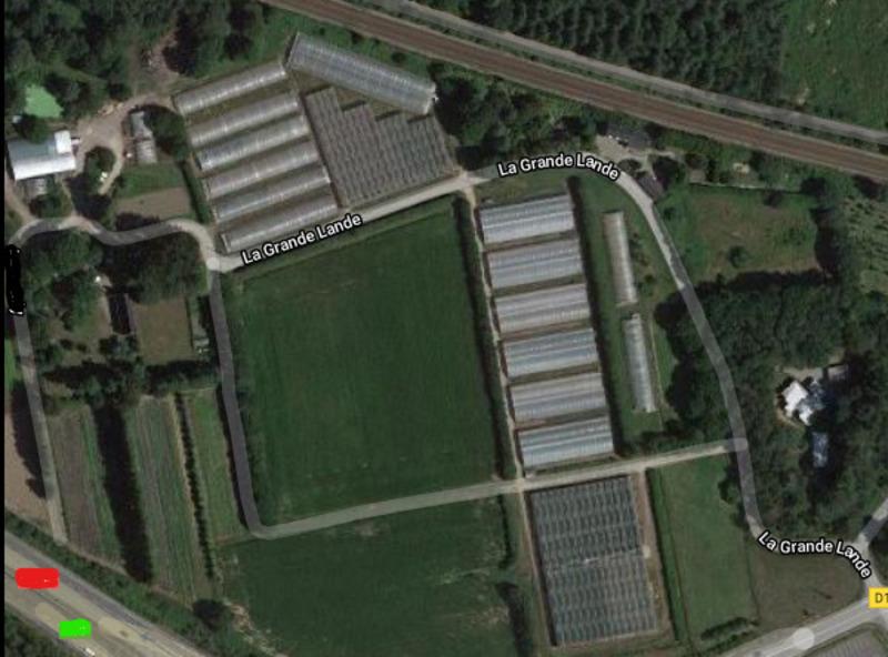 Terrain agricole de   m2 - Lorient (56100)