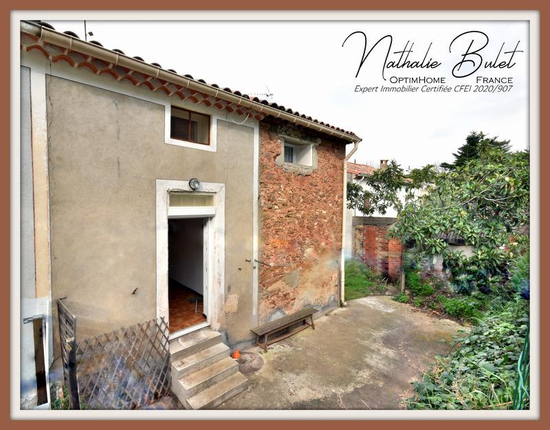 Maison mitoyenne de 48  m2 - Saint-Chinian (34360)