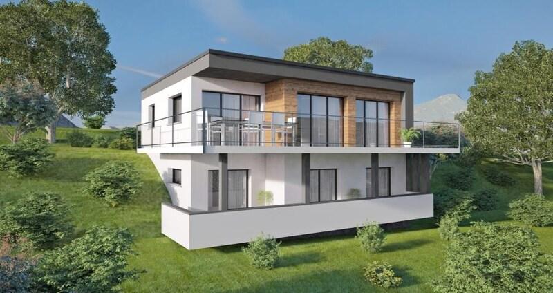 Maison contemporaine de 113  m2 - Tresserve (73100)