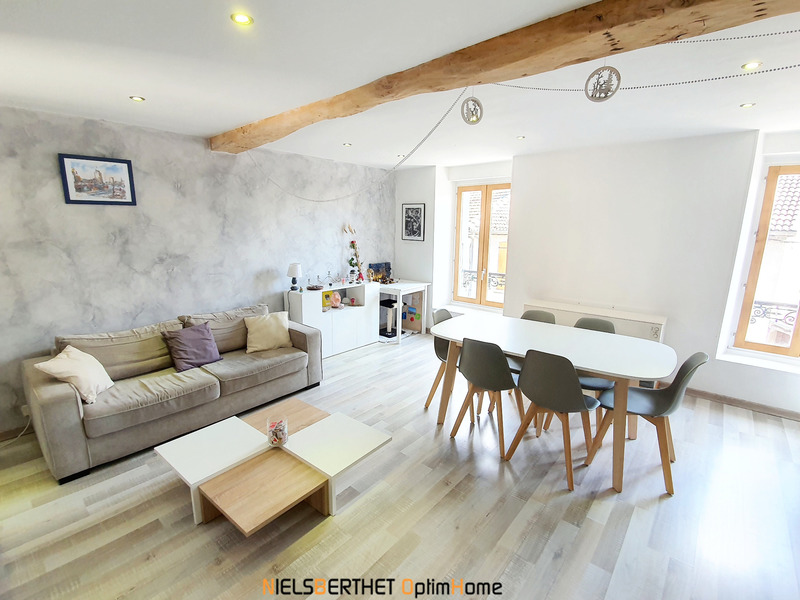 Appartement en rez-de-jardin de 105  m2 - Tullins (38210)