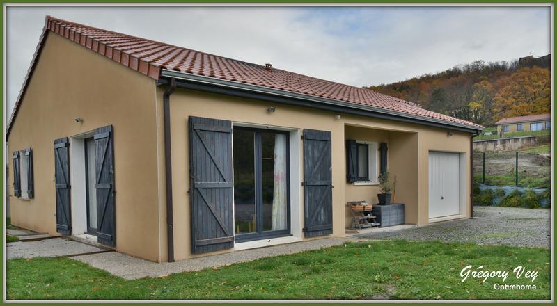 Maison plain-pied de 106  m2 - Ravel (63190)