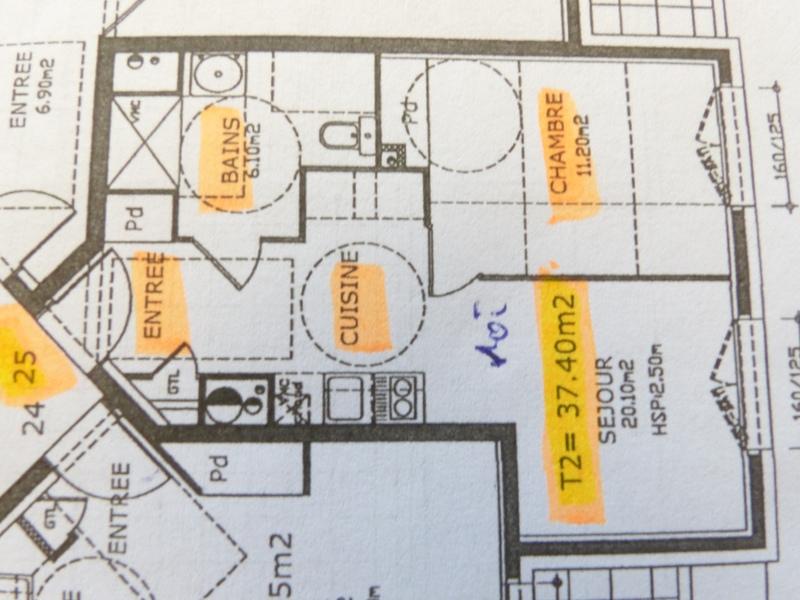 Appartement en résidence de 37  m2 - Clermont-Ferrand (63000)
