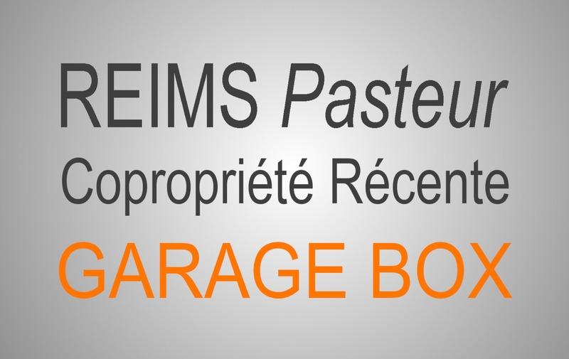 Garage (Stationnement) de   m2 - Reims (51100)