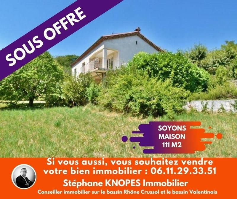 Maison de 111  m2 - Soyons (07130)