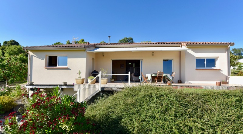 Maison contemporaine de 146  m2 - Lavaur (81500)