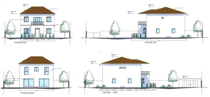 Maison contemporaine de 175  m2 - Saint-Loubès (33450)