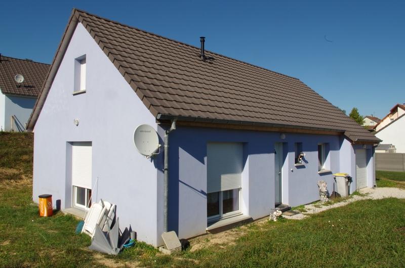 Maison plain-pied de 79  m2 - Champey (70400)