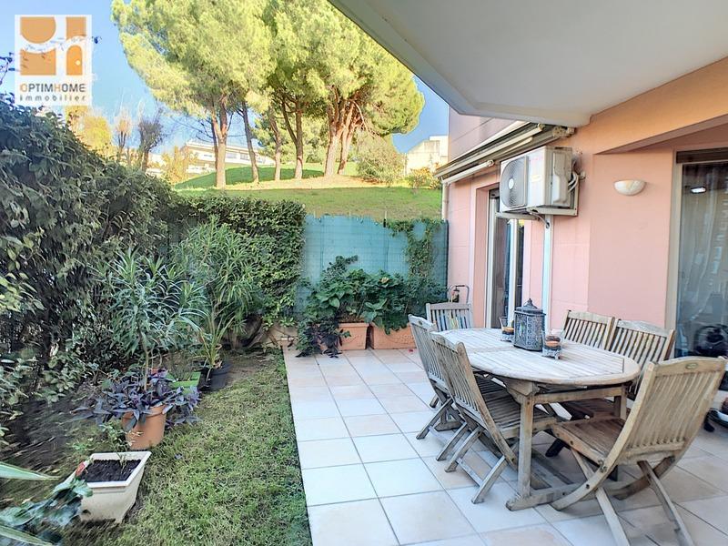 Appartement en rez-de-jardin de 44  m2 - Nice (06200)