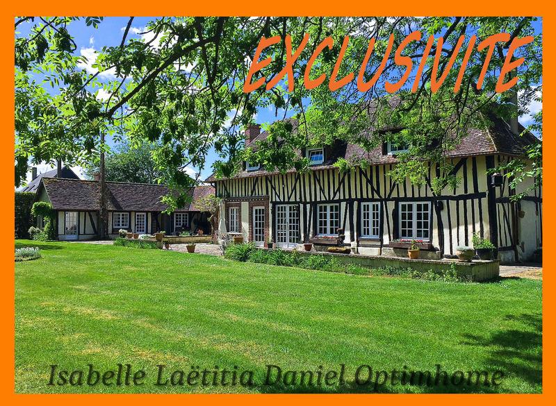 Maison de maître de 164  m2 - Verneuil d'Avre et d'Iton (27130)