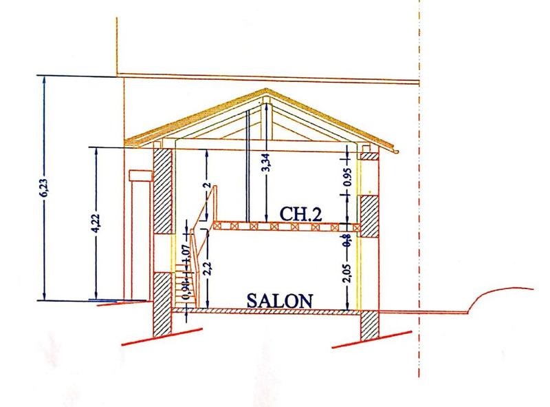 Grange de 58  m2 - Oradour-sur-Glane (87520)