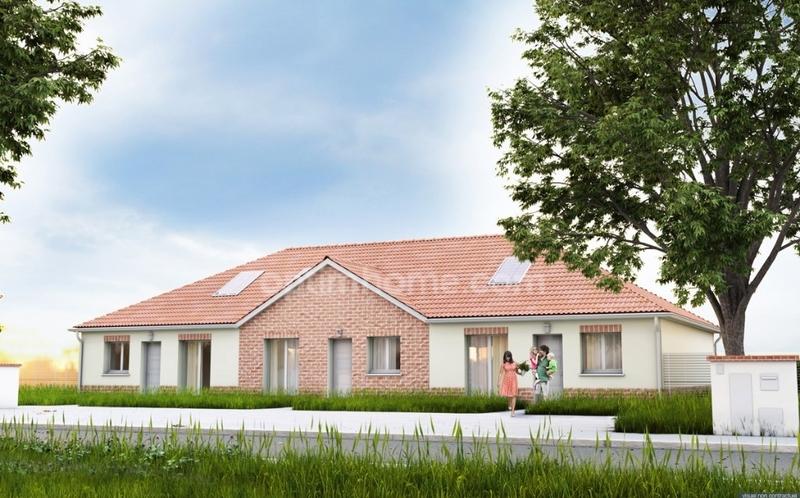 Maison en vefa de 66  m2 - Attiches (59551)
